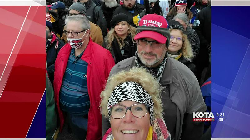 Rapid City residents travel to Washington DC to support Trump