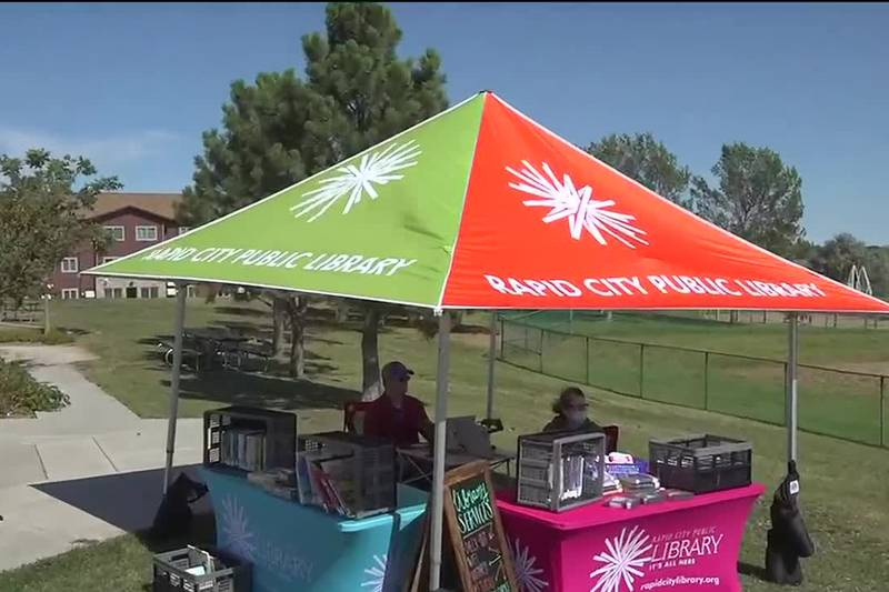 Last month of pop up libraries popping up around Pennington County