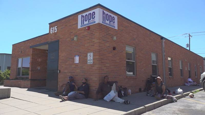 The HOPE center has it's eye on an empty warehouse to call their new building in order to serve...