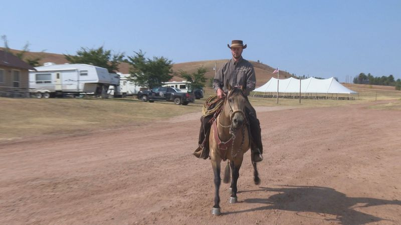 It's the calm before the stampede as Custer State Park prepares for a massive spectator...