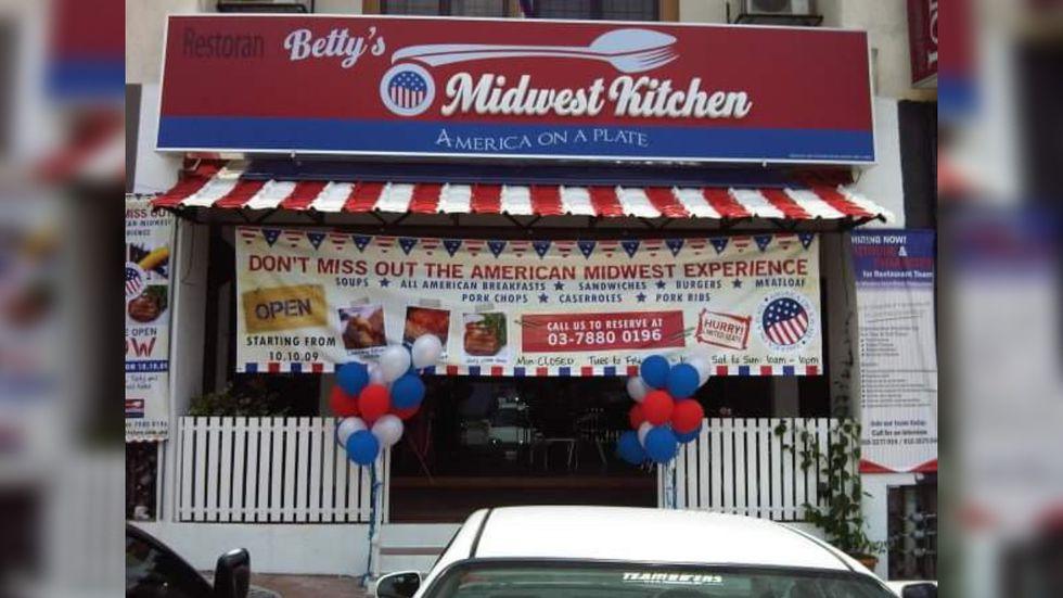 Betty的Midwest Kitchen是位于马来西亚八打灵再也的一家受Midwest启发的小餐馆,被用作...