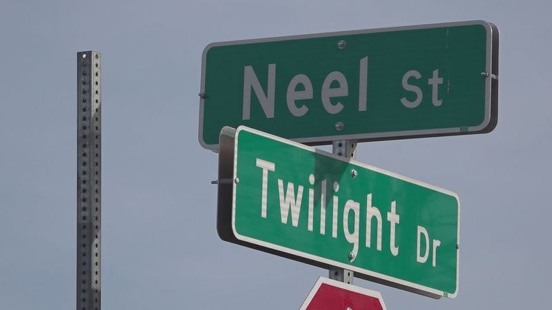 The new street signs are bigger, going from nine inches to 12, are a little different color,...