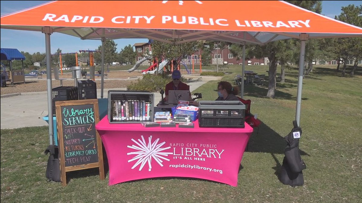 Pop up library