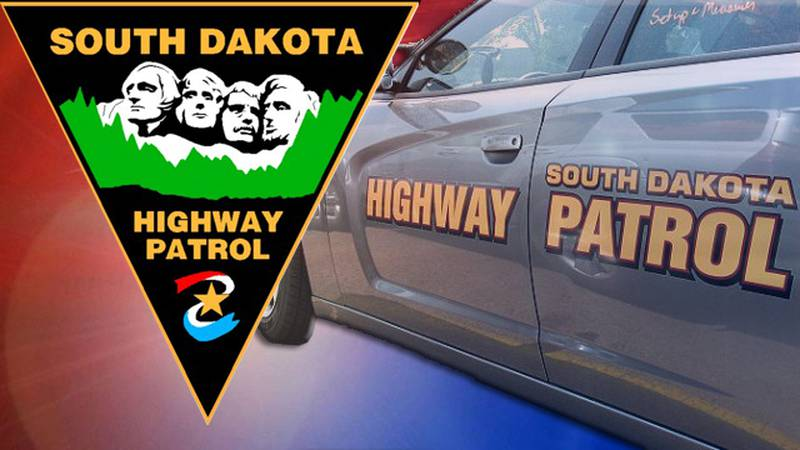 The South Dakota Department of Public Safety says a Dodge Charger was headed east on Elk Creek...