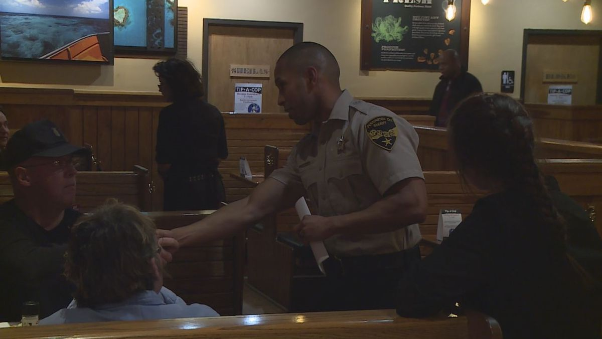 Special Olympians team up with local officers to raise money (KOTA TV)