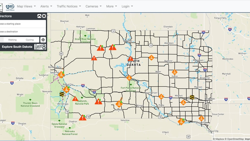 The South Dakota Department of Transportation has rolled out a new website and mobile app for...