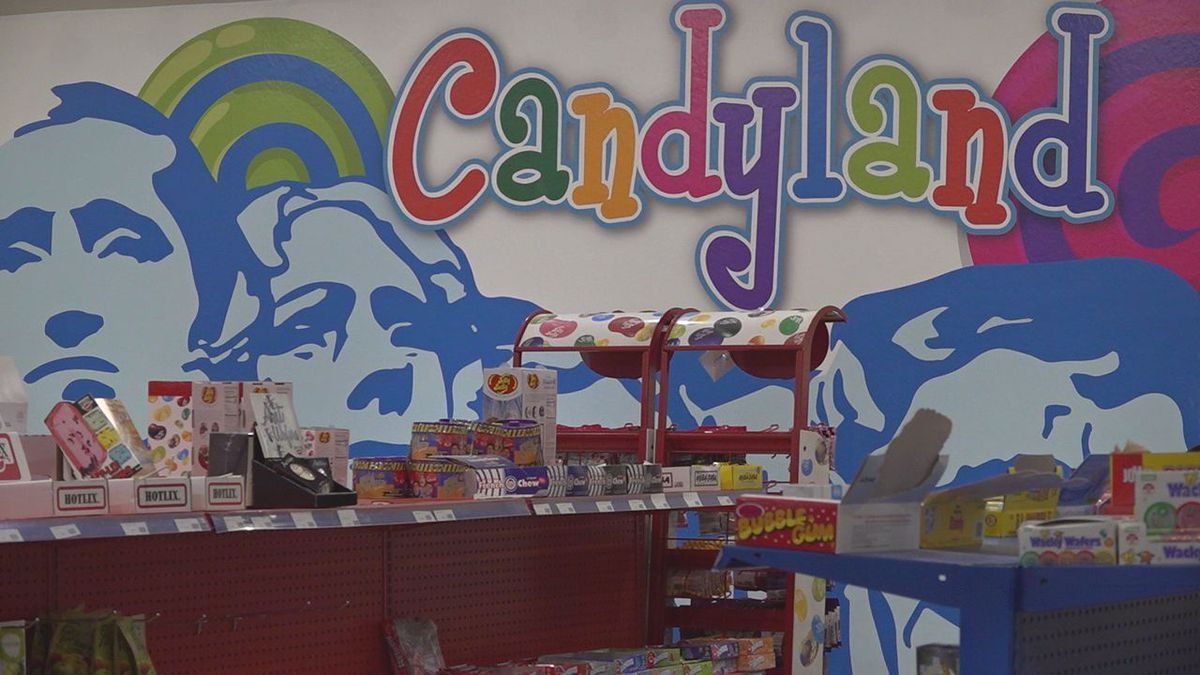 Hill City's Candyland bought the America's Founding Fathers building.