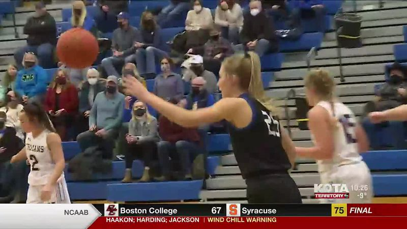 The Saint Thomas More girls basketball team lost to the West Central Trojans 60 to 53 to end...