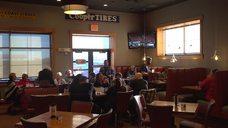 The Mount Rushmore Road restaurant strives to keep its service comfortable.