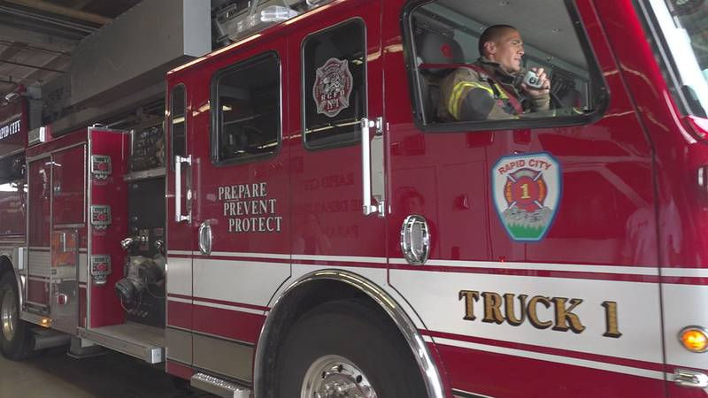 Rapid City Fire department and police department saw a significant increase of service calls...