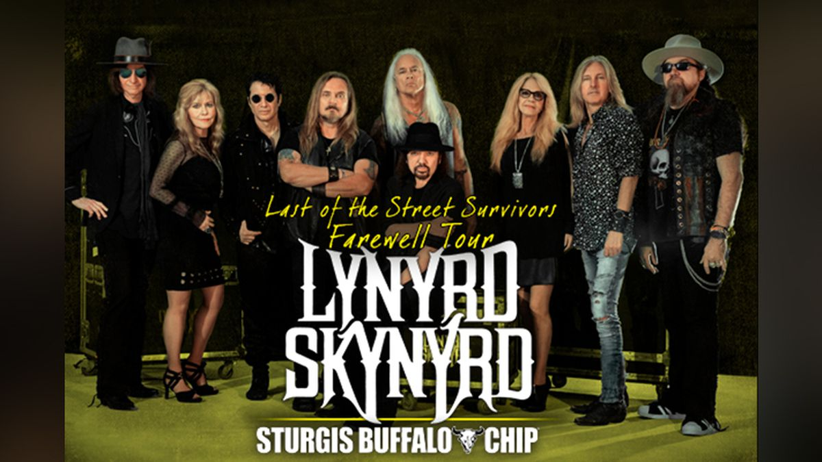 "Lynyrd Skynyrd will perform at the Sturgis Buffalo Chip Aug. 9 as part of its ""Last of the Street Survivors Farewell Tour."" (photo courtesy Lynyrd Skynyrd and Sturgis Buffalo Chip)"