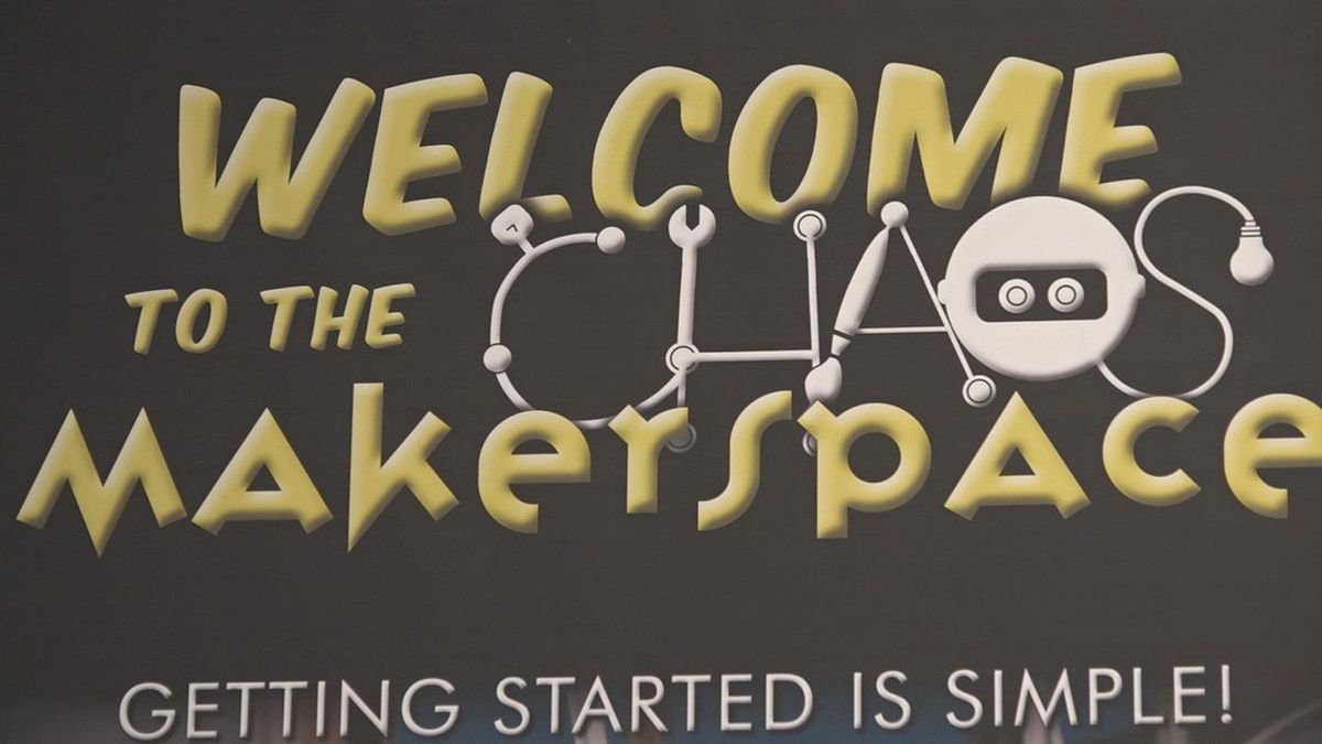 The makerspace at the Rapid City Public Library allows the community to be creative. (KOTA)