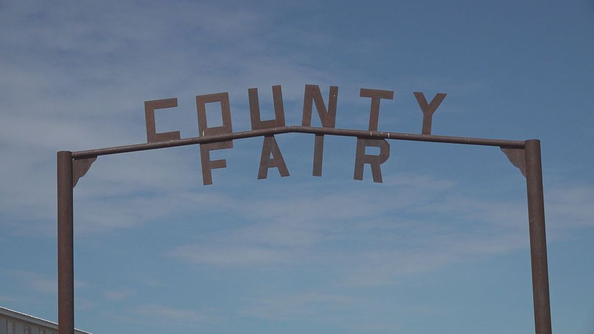 The entrance to the Fall River County Fair in Edgemont.