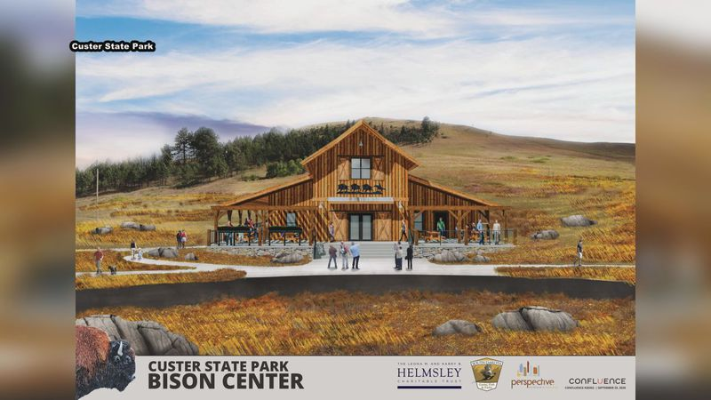 The state park is hoping to raise a total of $5,000,000 to build the center, which would...