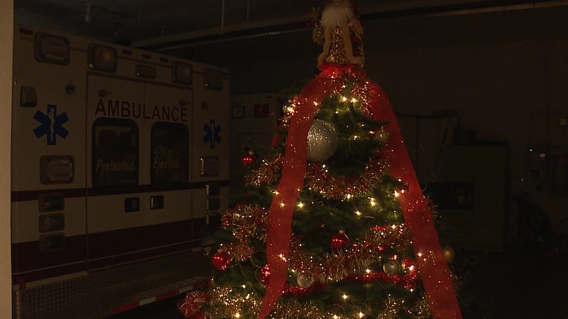 Newell's Festival of Trees fundraiser raises money for their fire department and ambulance...