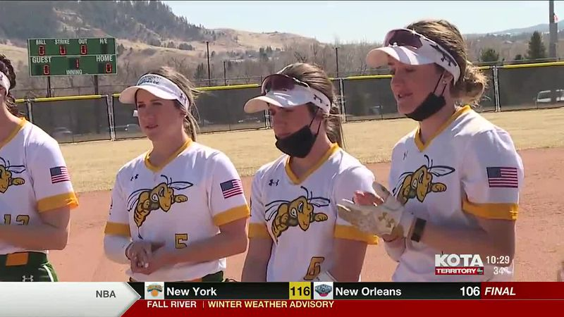 The Black Hills State softball team is led by three talented sisters. Congrats on being our...