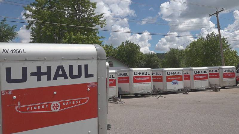 U-Haul trucks and trailers are in high demand everywhere and the Black Hills is seeing and...