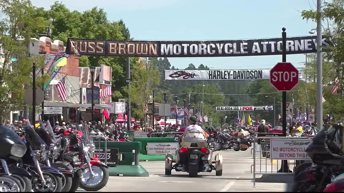 Rally Tally: Seventh Day of Sturgis bikers have heat-related problems