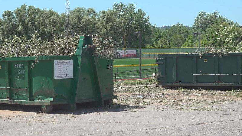 Uptick in illegal dumping at remote yard waste sites