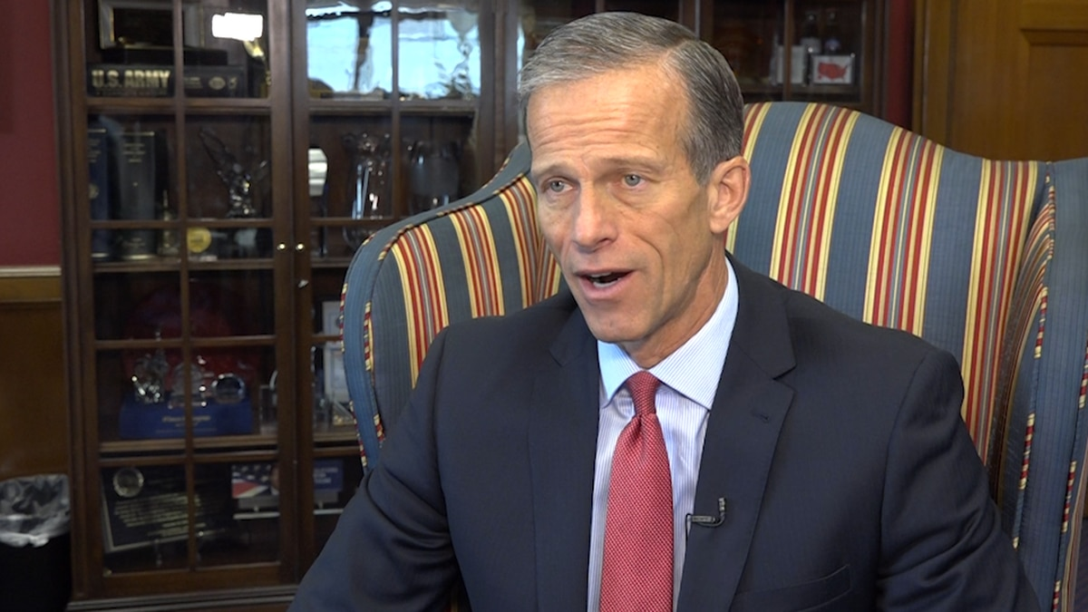 Sen. Thune (R-SD) says he would like to see a full repeal of the Estate Tax.