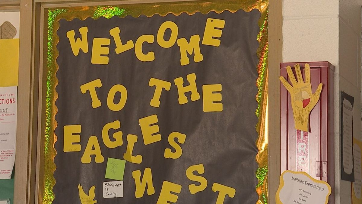 Eagle's Nest at North Middle School.