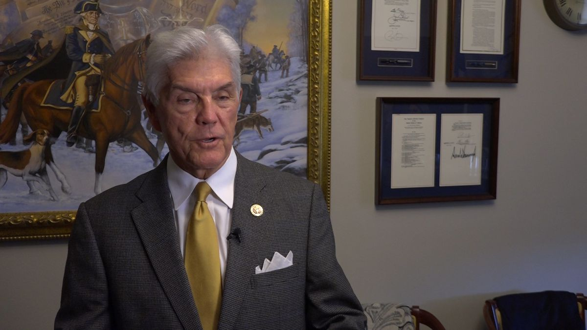 Rep. Roger Williams (R-TX) discussed the bill in his Rayburn office on Capitol Hill. (Source: Gray DC)