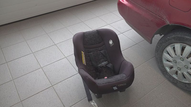Denny Menholt Toyota in Rapid City hosted a free car seat safety check along with the Black...
