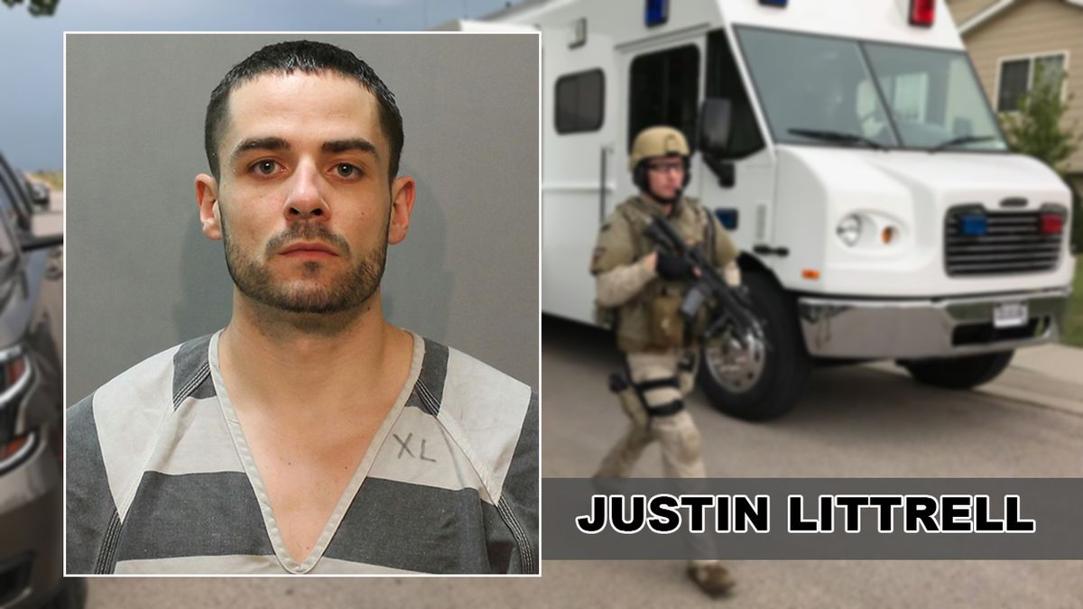 Two years ago, a Box Elder neighborhood saw Justin Lettrell break into a home, taking the home owners hostage, then shooting at officers. (KOTA TV)