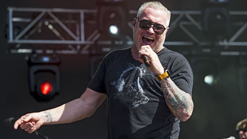 Steve Harwell of Smash Mouth seen at KAABOO 2017 at the Del Mar Racetrack and Fairgrounds on...