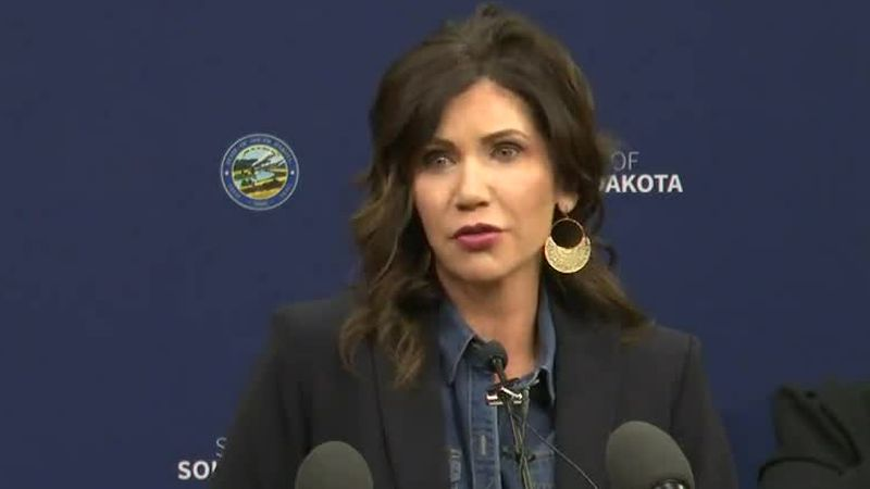 Gov. Noem defends her 'dark money' legislation as privacy protection for donors