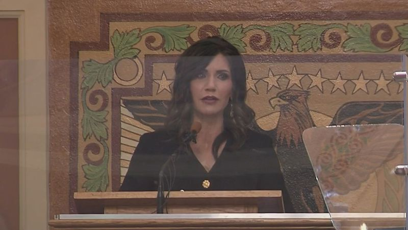 During her annual state of the state address Tuesday, Governor Kristi Noem stated her priority...