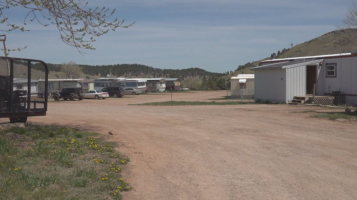 Officers responded to a call of shots fired around 7 PM at the Sacora Station mobile home park.
