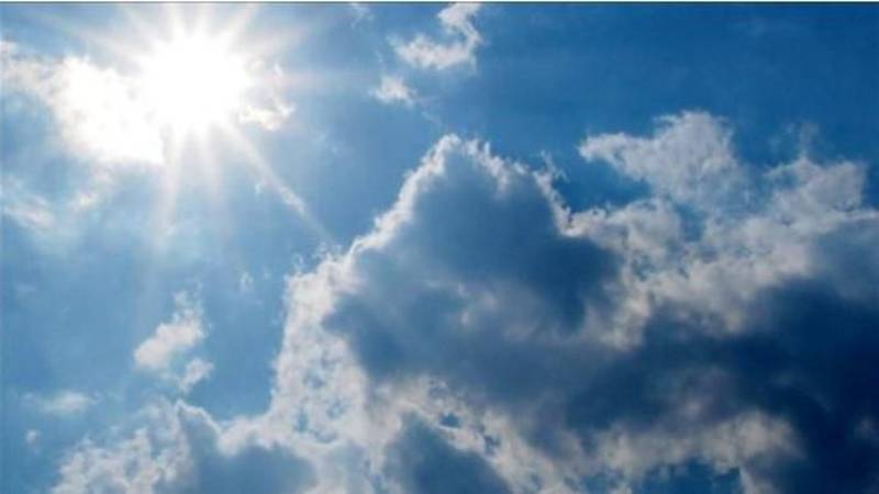 Sun and clouds persist through this week with dry weather
