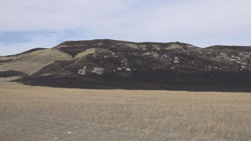 The Agate Bed Fire has burned more than 2,500 acres.