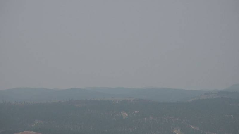 The smoke that has been looming in the sky for weeks around the Black Hills could be posing...