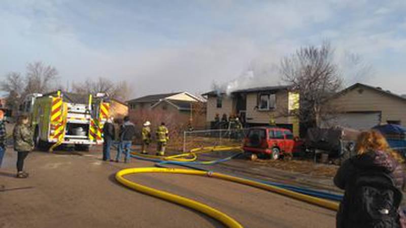 Rapid Valley fire reignites