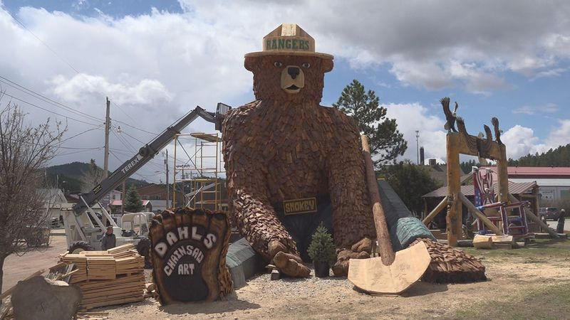 Jordan and Jarrett Dahl have been creating art with chainsaws for more than 15 years, producing...