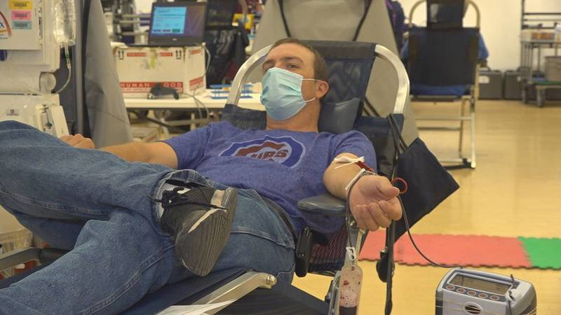 Drops of Love blood Drive takes place at Rushmore Mall