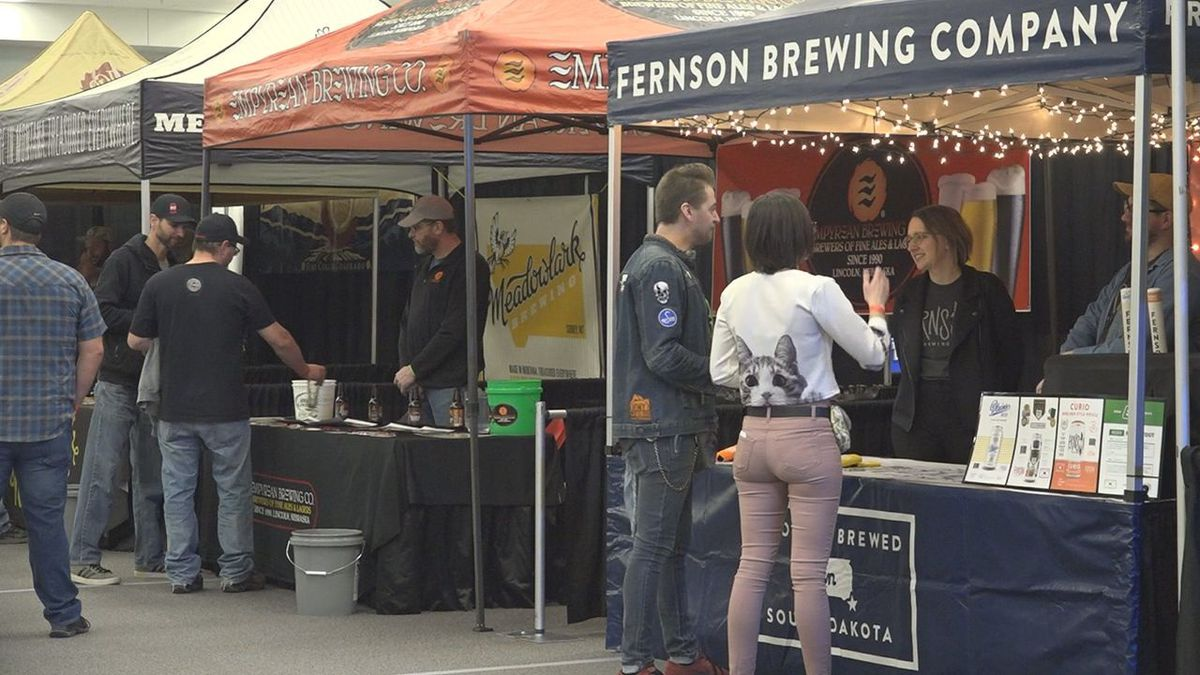 The 3rd Annual Mountain West Beer Fest took place on Saturday at Rushmore Plaza Civic Center.