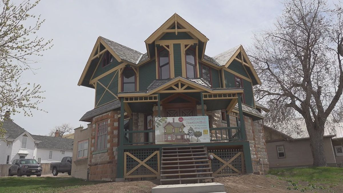 The house was built by former Rapid City Mayor Valentine McGillycuddy in the late 1800s.