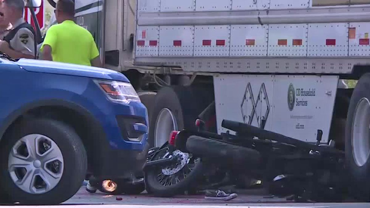 A man and woman were killed when their bike hit a semi-truck in Box Elder. A couple on another...