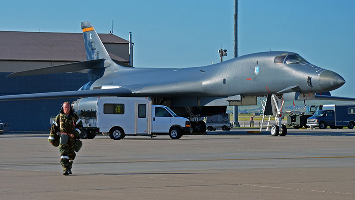 Ellsworth AFB was targeted for closure in 2005 but the Base Realignment and Closure Commission overruled the Air Force's plan to shed the B-1 bomber base. (photo by Jack Siebold)