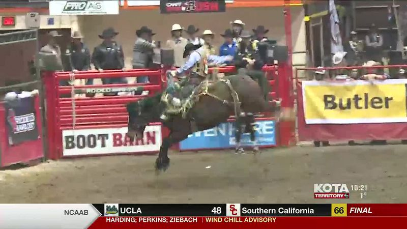 Highlights from Saddle Bronc Riding.