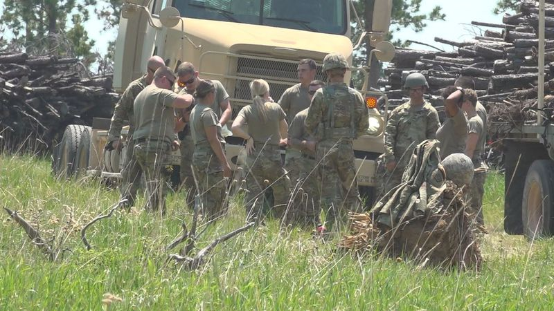 More than 2,000 servicemen and women are in the hills conducting training this year.
