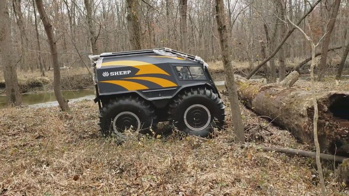 An all-terrain vehicle, called a SHERP Pro, will be coming to Pennington County soon.