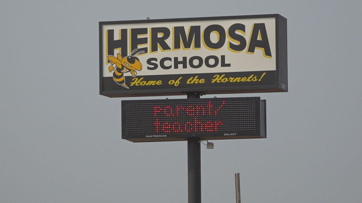 Construction continues at Hermosa elementary and middle school.