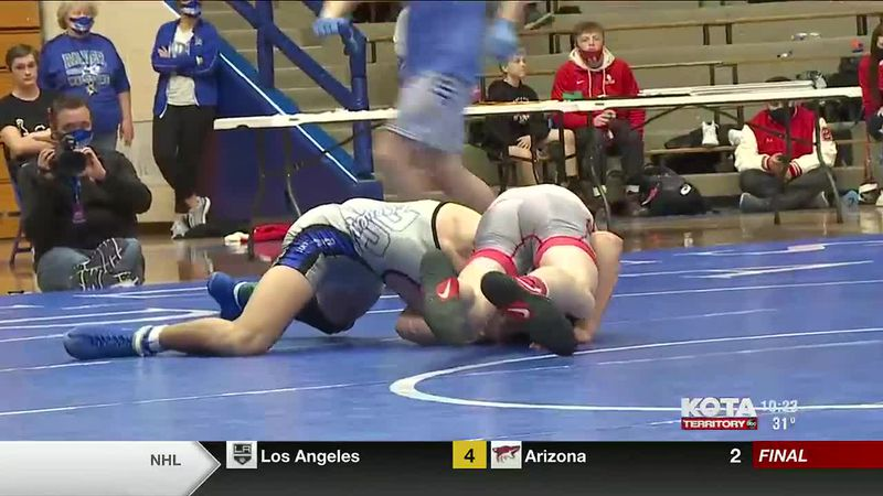 Highlights from the Region 4A Wrestling Tournament. The State Tournament will be next week.