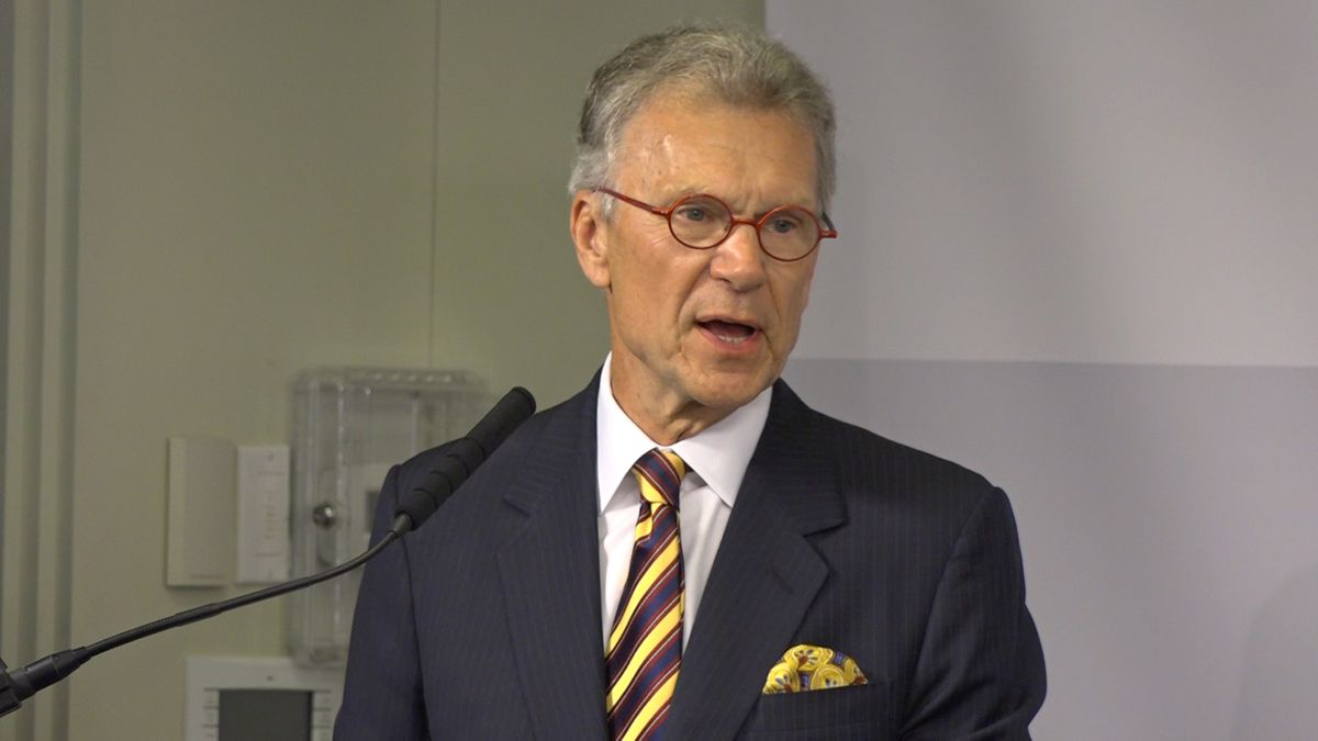 Former Senate Majority Leader Tom Daschle appeared at the Bipartisan Policy Center Wednesday to unveil poll results that show about 60% of people prefer a presidential candidate that makes rural healthcare a priority. (Source: Gray DC)