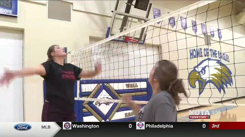 9-2 wall volleyball aow