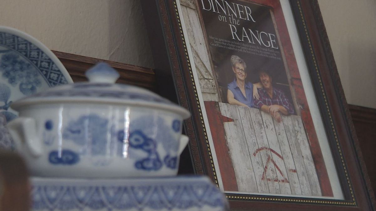 The Triangle Ranch was made into a bed & breakfast in 1996 and has served guests from all over the nation and world. (KOTA TV)